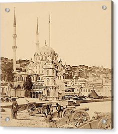 Artillery And Munition Store, Istanbul Acrylic Print by Felice Beato