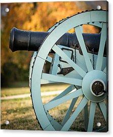 Artillery Acrylic Print by James Barber