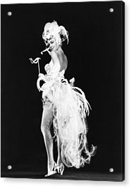 Artists And Models, Dorothy Malone, 1955 Acrylic Print by Everett