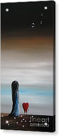 As Dreams Pass Her By By Shawna Erback Acrylic Print by Shawna Erback