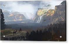 As It Was Meant To Be Acrylic Print by Dieter Carlton