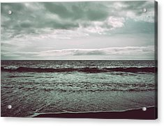 As My Heart Is Being Crushed Acrylic Print by Laurie Search