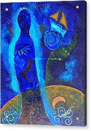 As Of Yet Untitled Dream Acrylic Print by Indigo Carlton