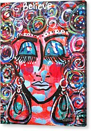 As Within So Without Acrylic Print by Ifeanyi C Oshun
