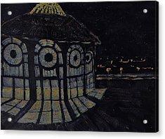 Asbury Park Acrylic Print by Robert Diken