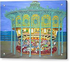Asbury Park Yesteryear Acrylic Print by Norma Tolliver
