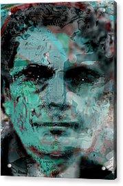 Asfacing2d Acrylic Print by Immo Jalass