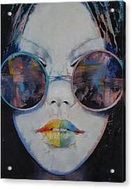Asia Acrylic Print by Michael Creese