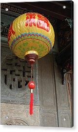 Asia, Vietnam Colorful Paper Lantern Acrylic Print by Kevin Oke