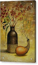 Asian Desert Acrylic Print by Vrindavan Das