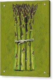 Asparagus Acrylic Print by Brian James