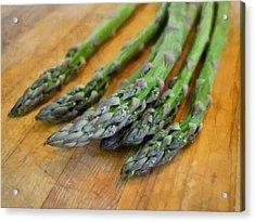 Asparagus Acrylic Print by Michelle Calkins