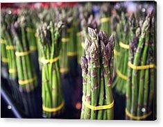 Asparagus Acrylic Print by Tanya Harrison