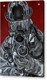 Assault Acrylic Print by Jodi Monroe