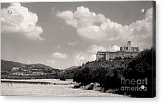 Assisi Italy -  Basilica Of San Francesco D'assisi Acrylic Print by Gregory Dyer