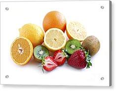 Assorted Fruit Acrylic Print by Elena Elisseeva