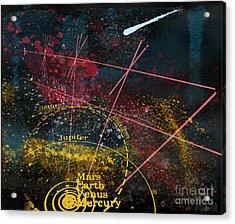 Astronomie Acrylic Print by R Kyllo