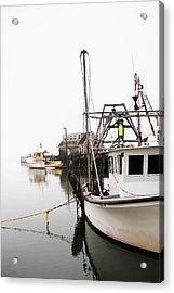 At Dock Acrylic Print by Karol Livote