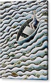 At Sea Acrylic Print by Celia Washington