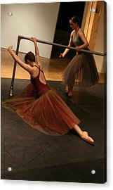 At The Barre Acrylic Print by Kate Purdy