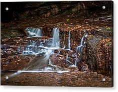 At The Bottom Of Honey Run Acrylic Print by Tom Mc Nemar