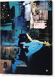 At The Edge Of Beyond Acrylic Print by Charlotte Nunn