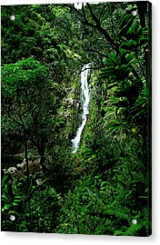At The End Of The Valley Acrylic Print by James Temple