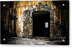 At The Old Fort Acrylic Print by Perry Webster