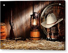 At The Old Ranch Acrylic Print by Olivier Le Queinec