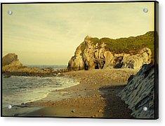 Atlantic Seascape Asturias Spain Acrylic Print by Juan  Bosco