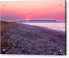 Atlantic Sunrise Acrylic Print by George Cousins