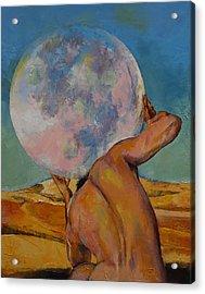 Atlas Acrylic Print by Michael Creese