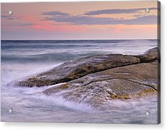 Attack The Waves Acrylic Print by Guido Montanes Castillo
