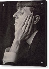 Aubrey Beardsley Acrylic Print by Frederick Evans