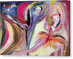 August Romance Acrylic Print by Judith Desrosiers