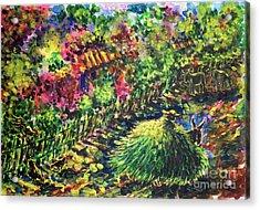 August Acrylic Print by Zaira Dzhaubaeva