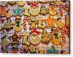 Aunt Tc's Christmas Cookies Acrylic Print by Mitch Shindelbower