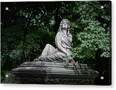 Aurther Haserot Monument Acrylic Print by Tom Mc Nemar