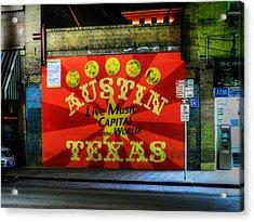Austin Hdr 006 Acrylic Print by Lance Vaughn