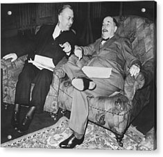 Author H.g. Wells Acrylic Print by Underwood Archives