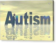 Autism Acrylic Print by Carol & Mike Werner