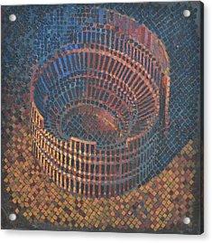 Autumn Amphitheatre Acrylic Print by Mark Howard Jones