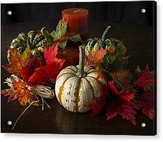 Autumn Delight Acrylic Print by Jeff Burton