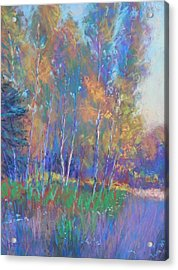 Autumn Fantasy Acrylic Print by Michael Camp