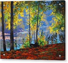 Autumn In Tumut Acrylic Print by Graham Gercken