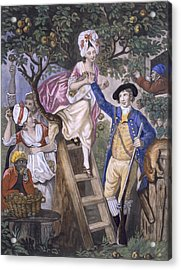 Autumn, Negro Servant, C.1780 Acrylic Print by John Collet