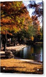 Autumn On Theta Acrylic Print by Lana Trussell