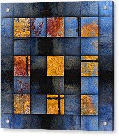 Autumn Reflections Acrylic Print by Carol Leigh