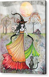 Autumn Reverie Acrylic Print by Molly Harrison