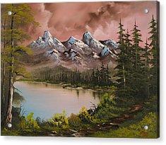 Autumn Storm Acrylic Print by C Steele